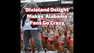 """Dixieland Delight"" Makes Alabama Fans Go Crazy"