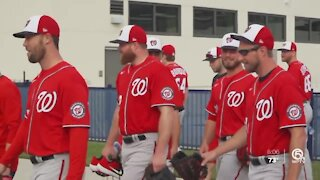Pitchers and catchers report for spring training