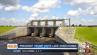 President Trump to visit Lake Okeechobee