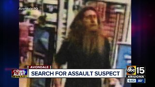 Avondale police looking for Walmart groping suspect