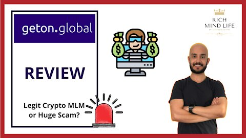 Geton Global Review – Legit Crypto MLM or Huge Scam?