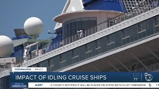 Impact of idling cruise ships