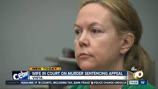 Wife appeals sentence for husband's murder