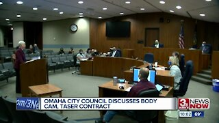 Omaha City Council discusses body cam, taser contract