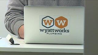 Local plumbers taking extra precautions as business booms amid coronavirus