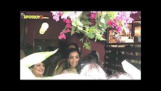 Kajal Aggarwal Enjoys Her Mehendi Ceremony | SpotboyE