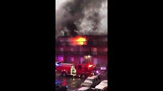 Waldo Heights fire