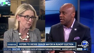 Voters to decide Denver mayor in runoff election