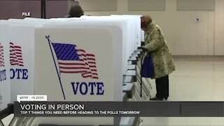 Top 7 things you need before heading to the polls Tuesday