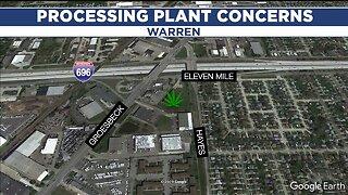 Roseville residents concerned over proposed marijuana processing plant in Warren