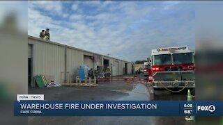 Cape Coral warehouse fire investigation