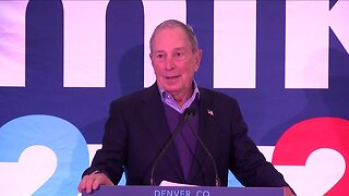 Bloomberg opens Colorado campaign office as opponents focus on Iowa