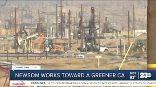 Newsom works towards a greener California