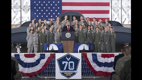 President Trump's Remarks on the 70th Anniversary of the U.S. Air Force
