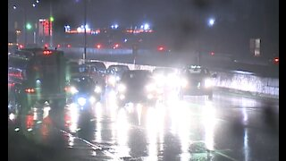 Many highways under water in metro Detroit