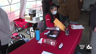 Boise shelters holds COVID-19 vaccination event for homeless community