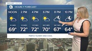 7 First Alert Forecast 12 p.m. Update, Friday, September 10