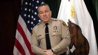 LA County Sheriff Rips New Mask Mandate as 'Not Backed by Science