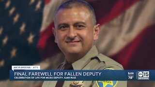 Slain MCSO deputy honored at funeral