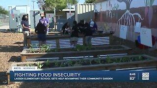 V.H. Lassen Elementary gets donation for school garden
