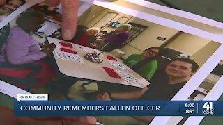 Smithville community remembers fallen police officer
