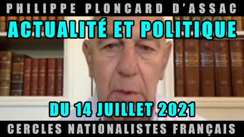 Actualité et politique du 14 Juillet 2021