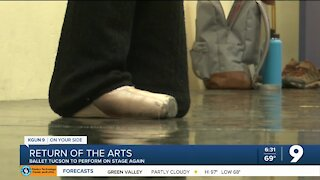 Ballet Tucson prepares to return to the stage