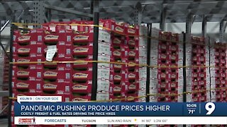 Pandemic pushing produce prices higher