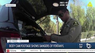 Deputy nearly dies from fentanyl exposure