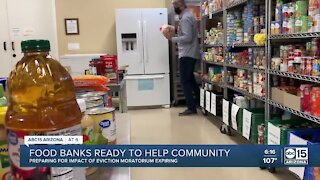 Valley food banks prepare to help where they can as eviction moratorium expires