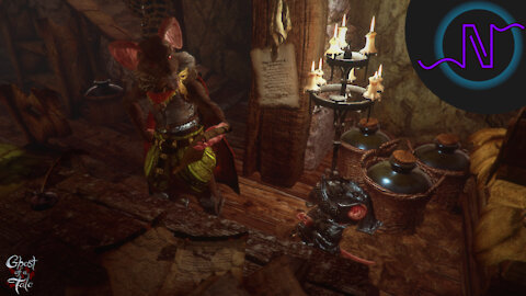 REPORTING THE SMUGGLERS TO THE COMMANDER! - Ghost of a Tale Playthrough - E34