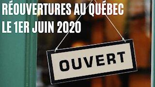 Voici spécifiquement tout ce qui rouvre aujourd'hui au Québec