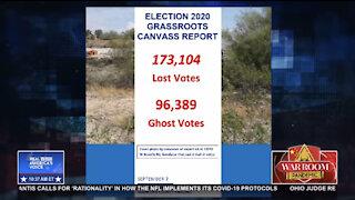 Liz Harris On Steve Bannon's War Room: Arizona Canvassing Efforts - 96,389 GHOST VOTES