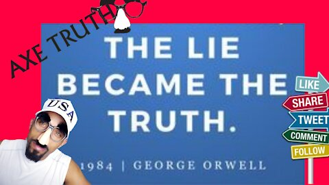 Friday Follies - We're Living in a Time When Lies are TRUTH?