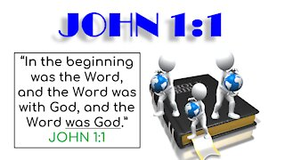 JOHN CHAPTERS 1 & 2 - BIBLE STUDY QUIZ