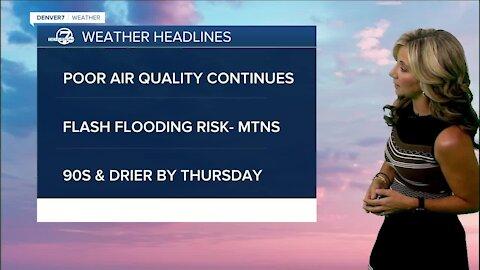 Tuesday 5:15 a.m. forecast