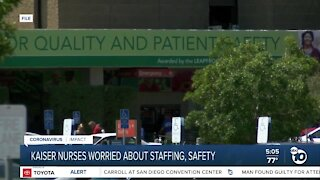 Kaiser nurses worried about staffing and safety