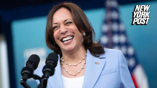 VP Kamala Harris laughs when asked about tragedy in Afghanistan