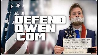 Owen Shroyer issued warrant for arrest.