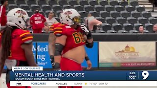 Mental Health and Sports: Tucson Sugar Skull Matt Burrell