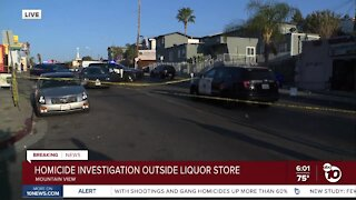 SDPD respond to shooting in Mountain View area