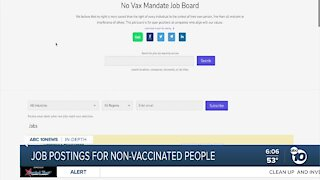 Job boards for non-vaccinated people emerge as vaccine mandates take effect