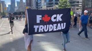 """Justin Trudeau Protests In Canada"""" Canadians Protest Justin Trudeau's """"Vaccine Passports In Canada"""""""