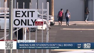 Parents say schools dropped the ball when sending students to quarantine