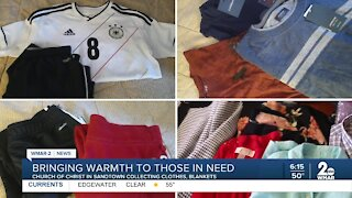 Bringing warmth to those in need