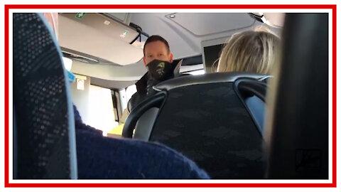 Skandal! Bus darf nicht weiterfahren!