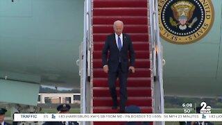 President Biden coming to Baltimore