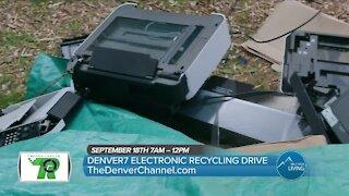 Denver7 Electronics Recycling Drive