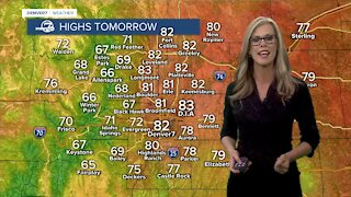 Your holiday weekend forecast- warming up