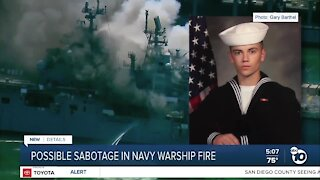 Accused sailor's attorney speaks out after documents reveal possible sabotage in warship fire